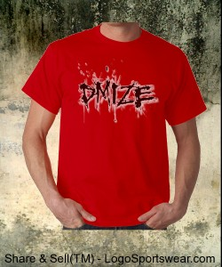 DMIZE - LOGO - NO BACK - RED Design Zoom