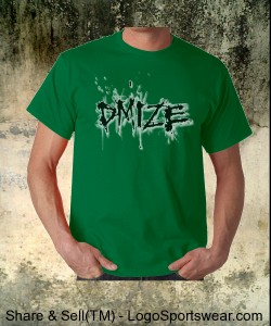 DMIZE - LOGO - NO BACK - GREEN Design Zoom