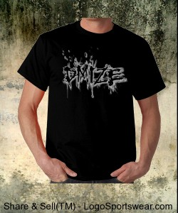 DMIZE - EAR CUNT SHIRT BLACK Design Zoom